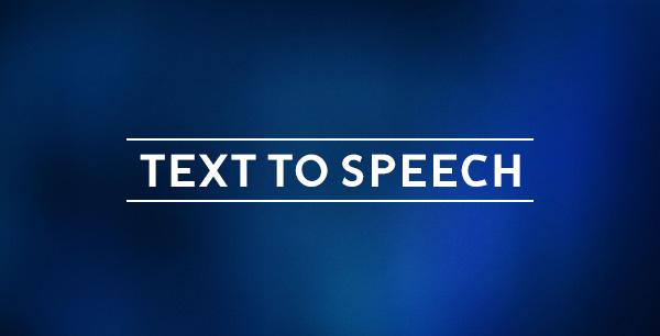 ساختار تبدیل متن به گفتار